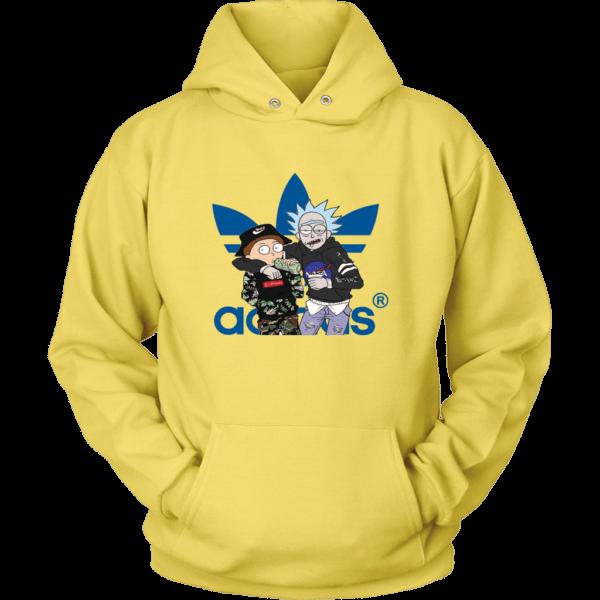 Rick And Morty Adidas Fashion Unisex Hoodie