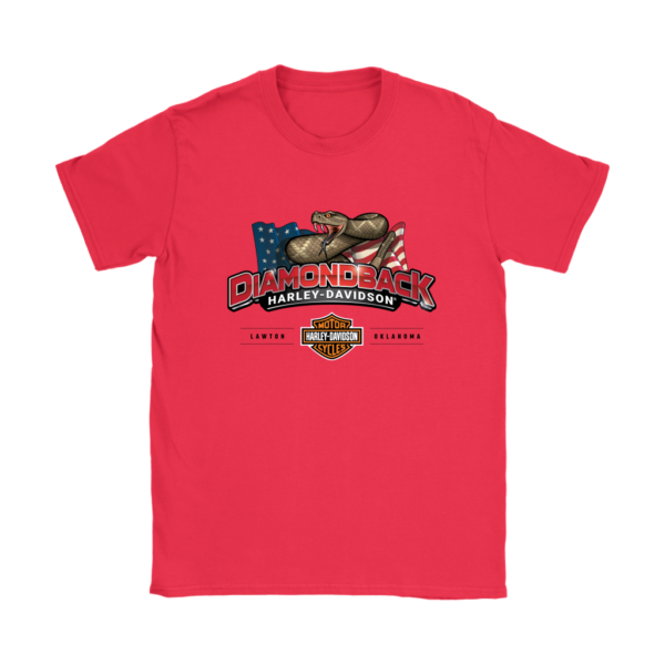 Harley Davidson Logo Premium Womens T-Shirt