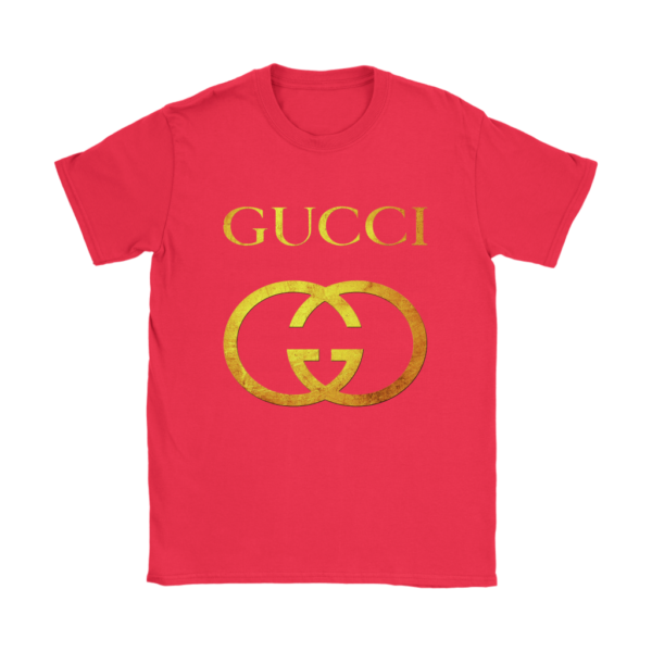 Gucci Gold Logo Womens T-Shirt
