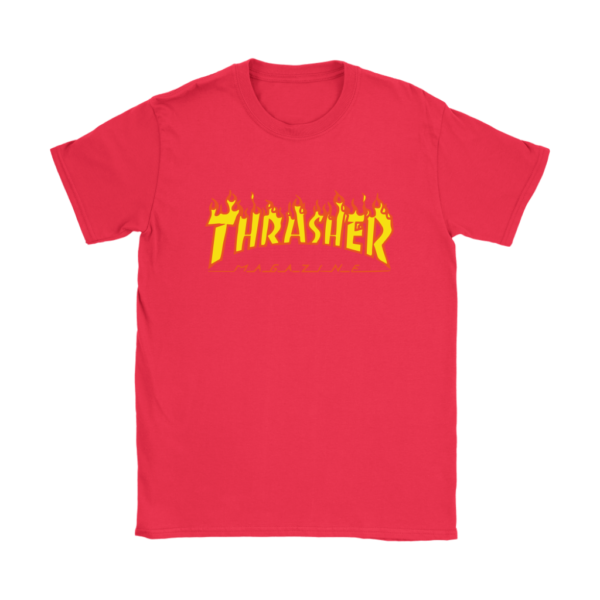 Thrasher Flame Logo Womens T-Shirt