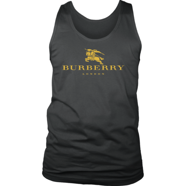 Burberry Gold Edition Logo Mens Tank Top