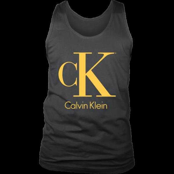 Calvin Klein Gold Logo Premium Mens Tank Top
