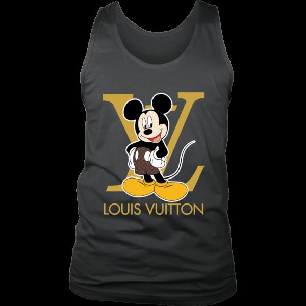 Louis Vuitton Mickey Mouse Mens Tank Top