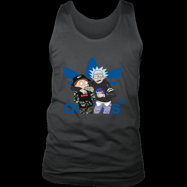 Rick And Morty Adidas Fashion Mens Tank Top