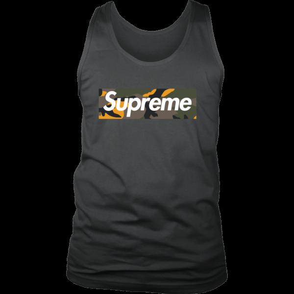 Supreme Brooklyn Logo Mens Tank Top