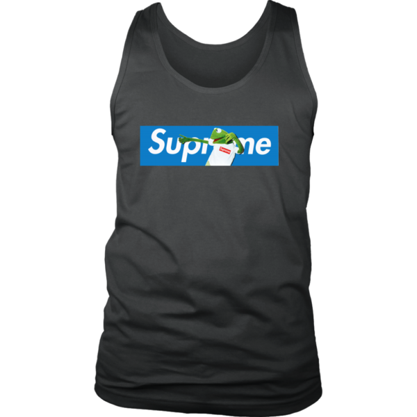 Supreme x Kermit The Frog Limited Mens Tank Top
