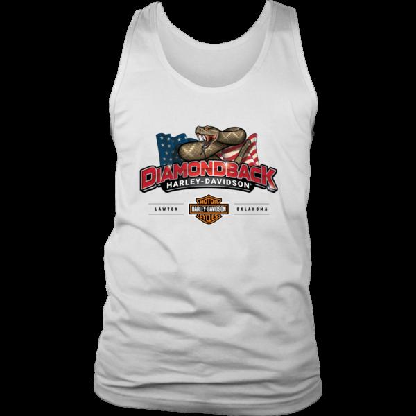 Harley Davidson Logo Premium Mens Tank Top