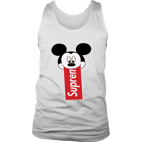 Supreme Mickey Mouse Disney Mens Tank Top