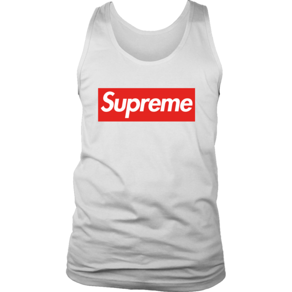 Supreme Box Logo Mens Tank Top