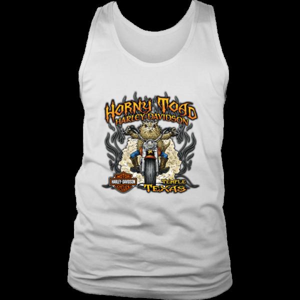 Horny Toad Harley Davidson Mens Tank Top
