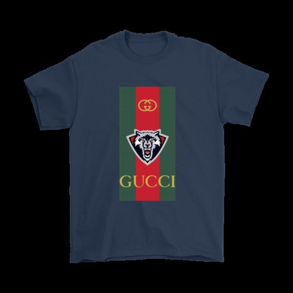 Gucci Wolf Printed Logo Limited Edition Mens T-Shirt