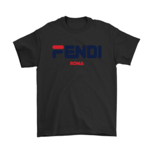 Fendi Logo Mens T-Shirt