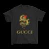 Gucci Gold Logo Mens T-Shirt