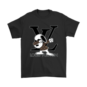 Snoopy Louis Vuitton Logo Mens T-Shirt