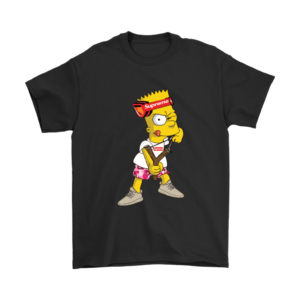 Bart Simpson Gucci Supreme Mens T-Shirt