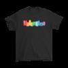 Valentino Logo Gold Premium Edition Mens T-Shirt
