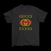 Gucci Logo With Batman Mens T-Shirt
