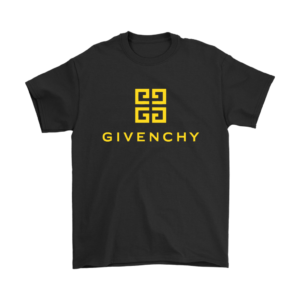 Givenchy Gold Logo Premium Mens T-Shirt