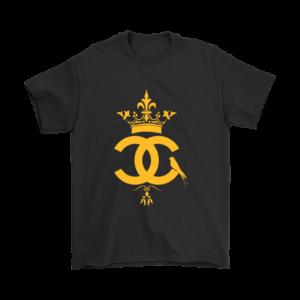 Coco Chanel Logo Premium Mens T-Shirt