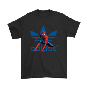 Spiderman Adidas Marvel Logo Mens T-Shirt