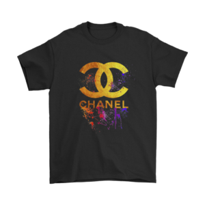CoCo Chanel Gold Logo Limited Edition Mens T-Shirt