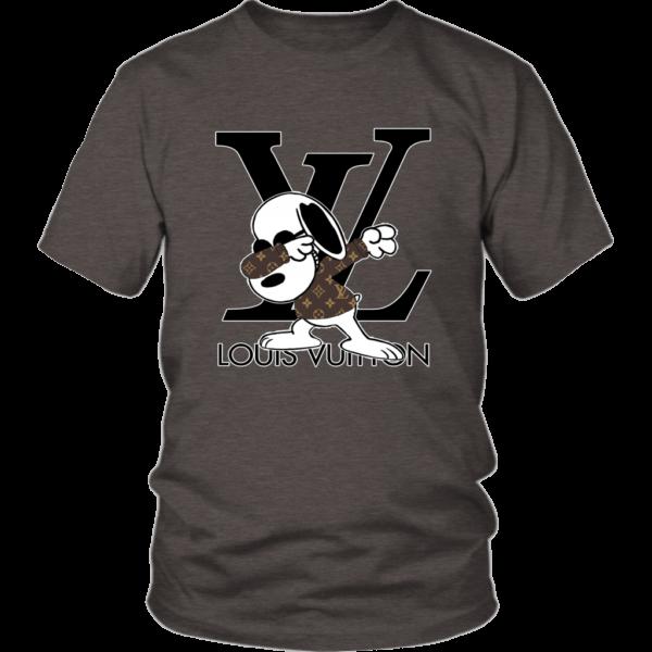 Snoopy Louis Vuitton Logo Unisex Shirt