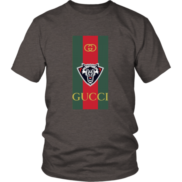 Gucci Wolf Printed Logo Limited Edition Unisex Shirt