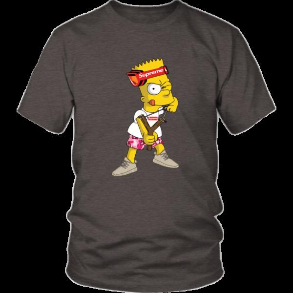 Bart Simpson Gucci Supreme Unisex Shirt