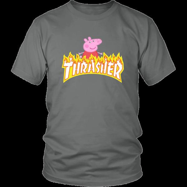 Peppa Pig Thrasher Premium Unisex Shirt