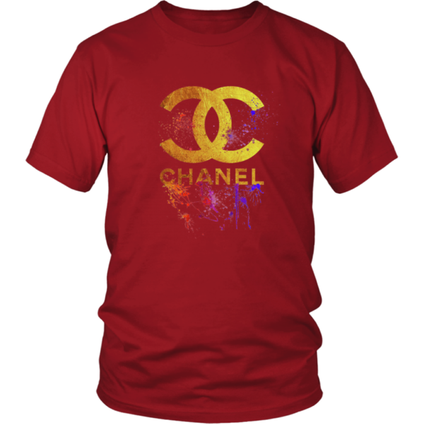 CoCo Chanel Gold Logo Limited Edition Unisex Shirt
