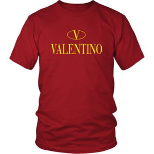 Valentino Logo Gold Premium Edition Unisex Shirt