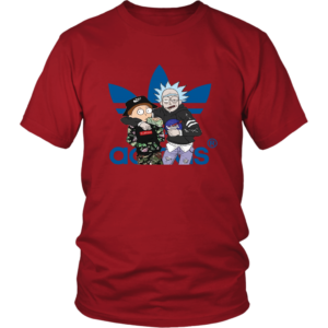 Rick And Morty Adidas Fashion Unisex Shirt