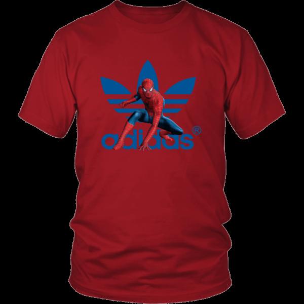 Spiderman Adidas Marvel Logo Unisex Shirt