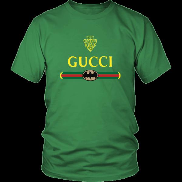 Gucci Logo With Batman Unisex Shirt