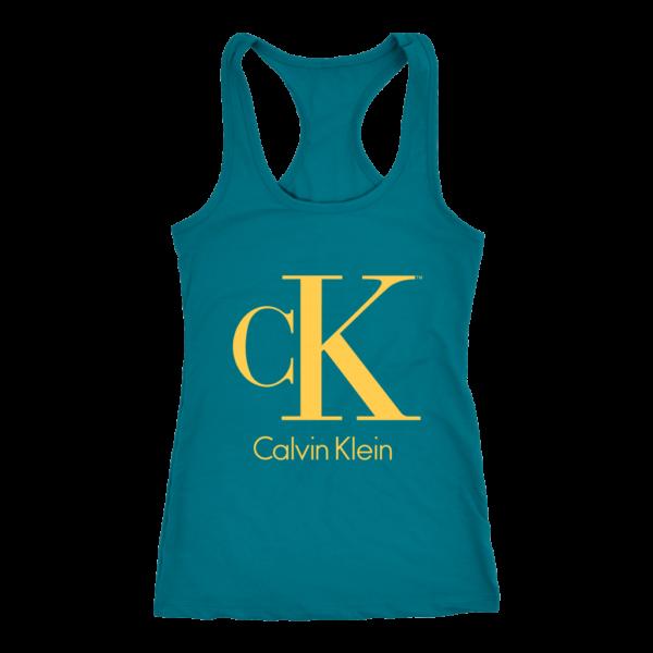 Calvin Klein Gold Logo Premium Women's Tank Top