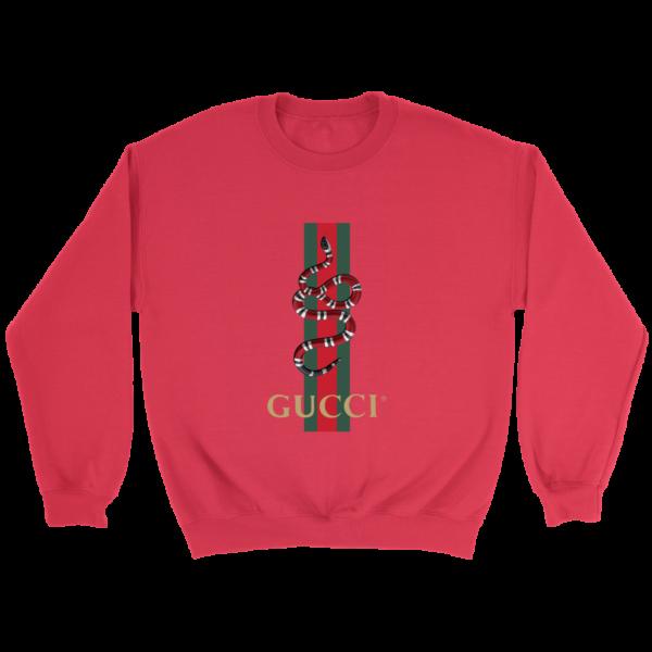 Gucci Snake Logo Crewneck Sweatshirt