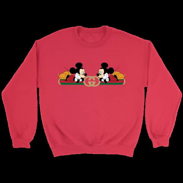 Gucci Mickey Mouse Limited Edition Crewneck Sweatshirt