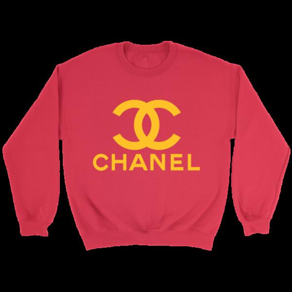 CoCo Chanel Logo Crewneck Sweatshirt