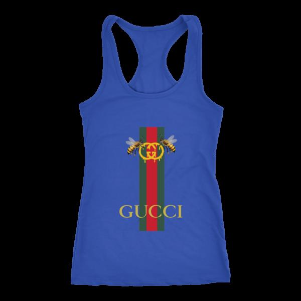 Gucci Bee Logo Drip Women's Tank Top