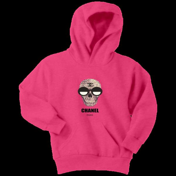 Chanel Skull Logo Youth Hoodie