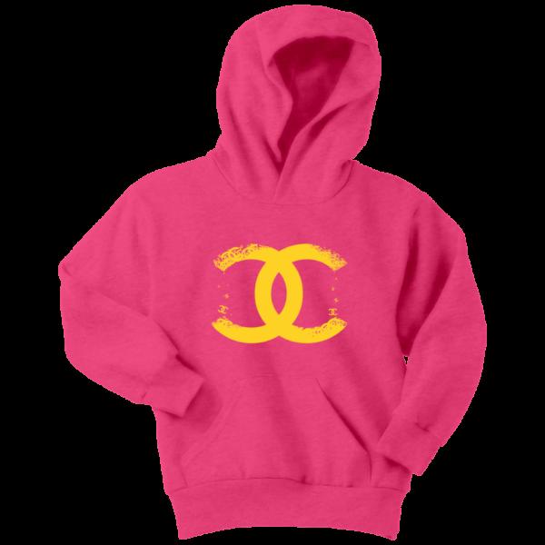 CoCo Chanel Logo Premium Youth Hoodie