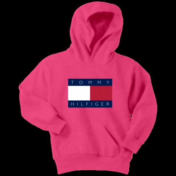 Tommy Hilfiger Logo Youth Hoodie