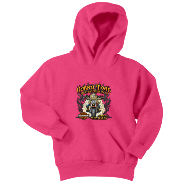 Horny Toad Harley Davidson Youth Hoodie