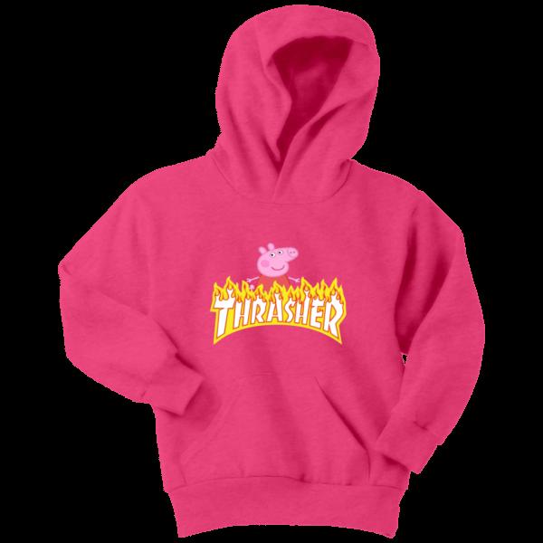 Peppa Pig Thrasher Premium Youth Hoodie