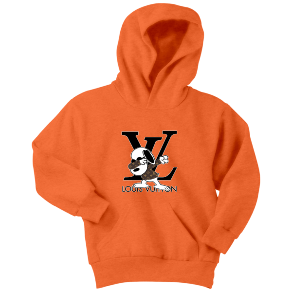 Snoopy Louis Vuitton Logo Youth Hoodie