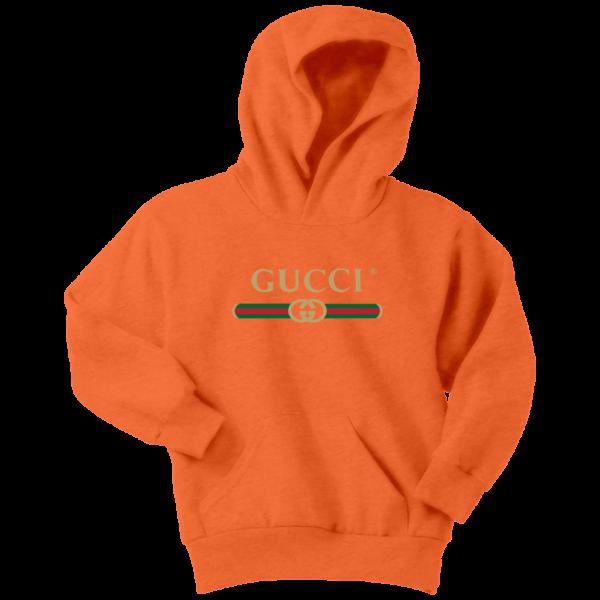 Gucci Logo 2021 Premium Youth Hoodie
