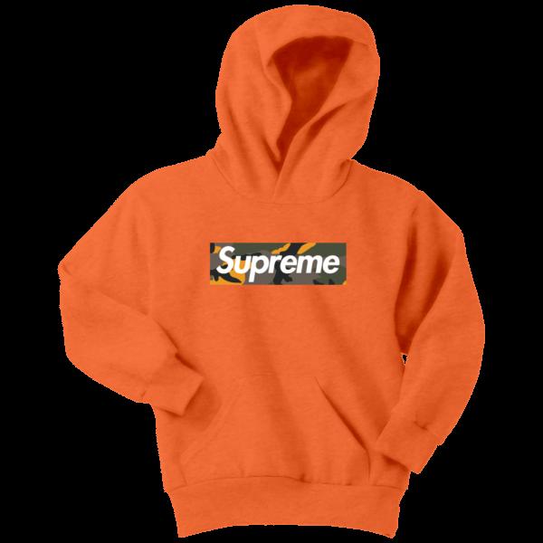 Supreme Brooklyn Logo Youth Hoodie