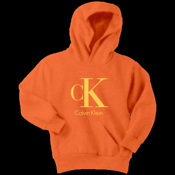 Calvin Klein Gold Logo Premium Youth Hoodie