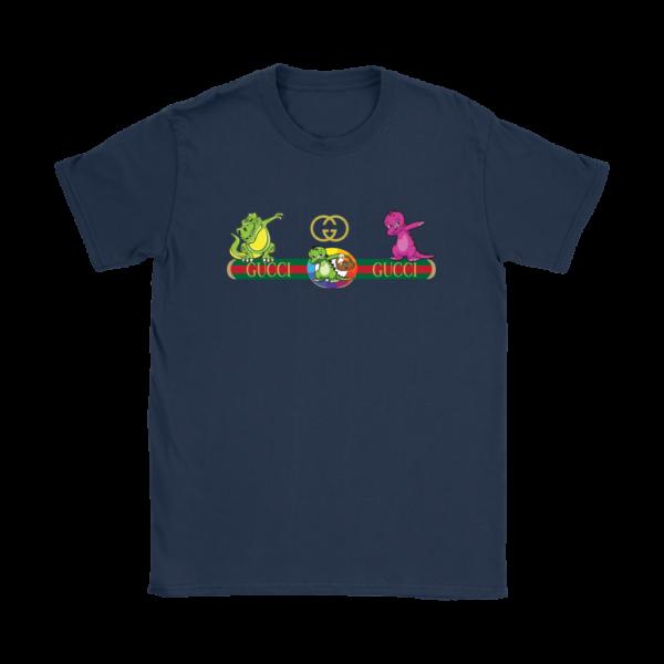 Dabbing Gucci Dinosaur Womens T-Shirt