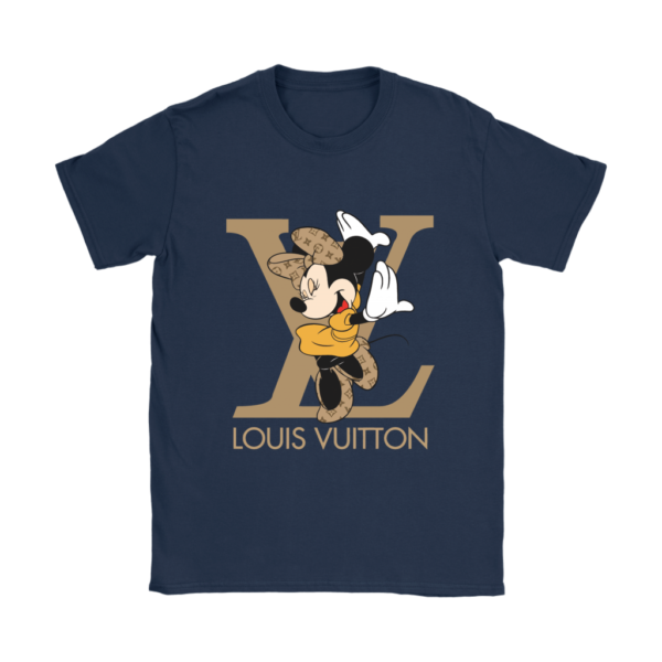 Minnie Mouse Louis Vuitton Edition Womens T-Shirt